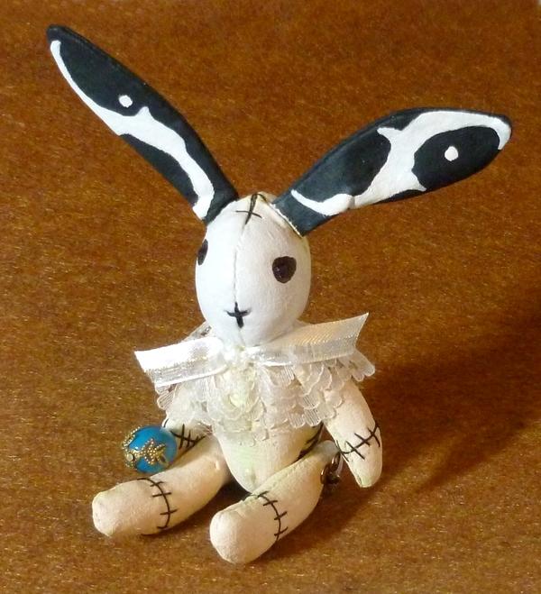 Bride of Frankenbunny.  Gothic Easter.