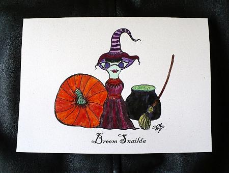 Broom Snailda
