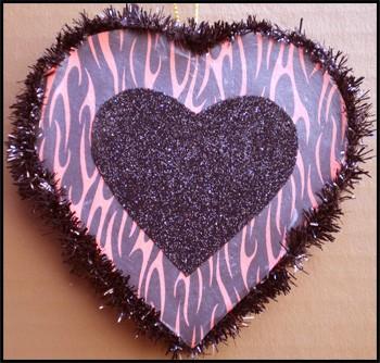 Valentine's Day Devils Heart  Ornament