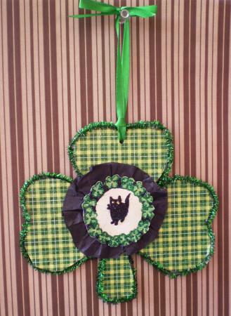 Good Luck Kitty Charm Ornament