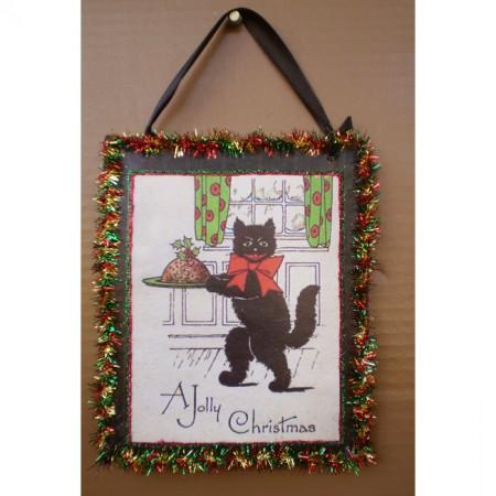 Jolly Christmas Cat