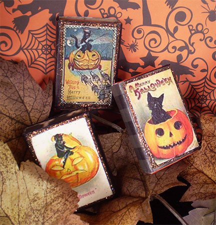 Trick or Treat Candy Boxes