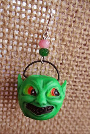 Monster Bucket Earrings