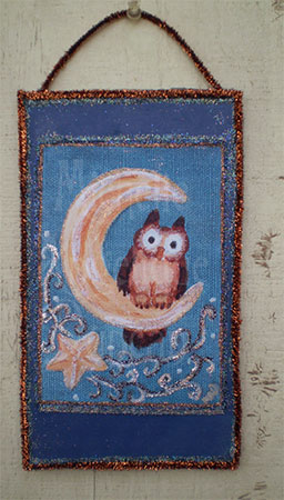 Owlie on the Moon