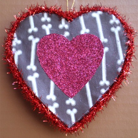 Valentine Skeleton Heart