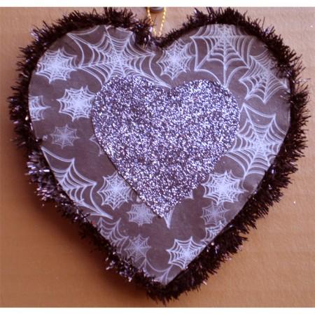 Valentine's Day Spiders Heart
