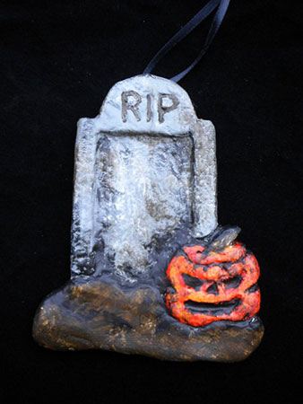 Tombstone and Old Jack ornament