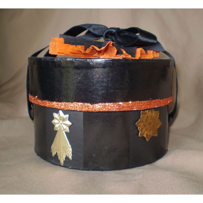 Vintage Hoot Halloween Owl Box