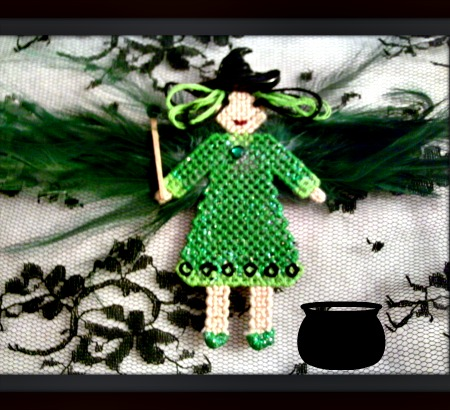 Emerald Green the Witch Faerie
