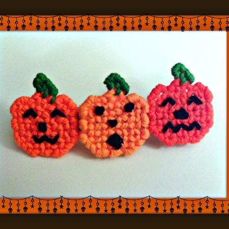 Pumpkin Barrette