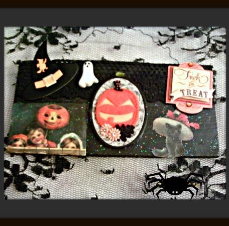 Trick or Treat Halloween Plaque