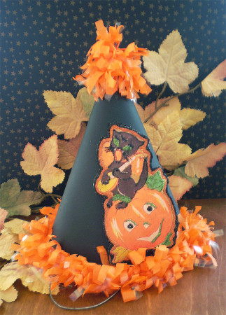 Mandolin Kitty Party Hat Offering